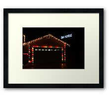 Scrooge Is Alive Framed Print