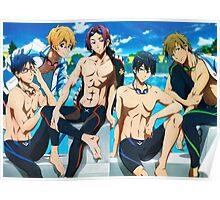 free! team Poster