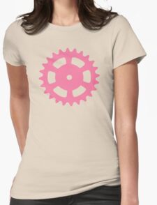 Cog and Roll (pastel) Womens Fitted T-Shirt
