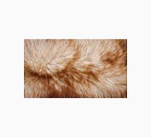 Red fox rough fur texture cloth  Unisex T-Shirt