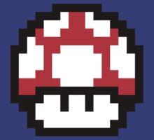 Mario Mushroom by drtees
