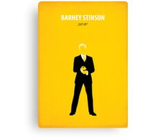 Barney Stinson Canvas Print