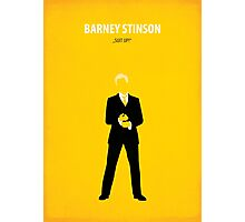 Barney Stinson Photographic Print