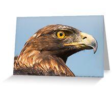 Golden Mane Greeting Card