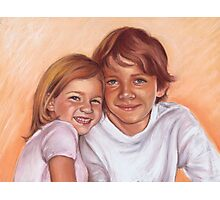 Jonah and Maddy Photographic Print