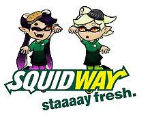 Squidway: Staaaay Fresh! by kestrelsgomoo