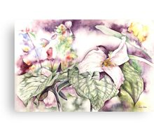 Glory in the Garden Canvas Print