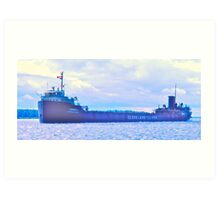 Iron Ore Carrier Art Print