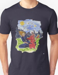 Cloud and Red XIII T-Shirt
