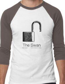 The Swan Men's Baseball ¾ T-Shirt
