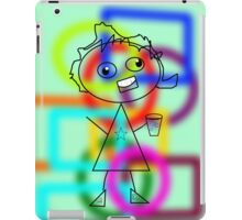 Basically Trying To Keep In Shape iPad Case/Skin
