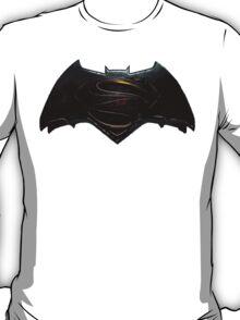 Superman Vs Batman Logo T-Shirt