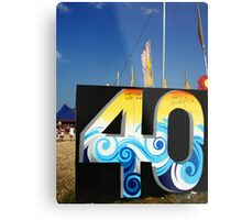 40 years of genius Metal Print