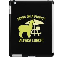 Going On A Picnic? iPad Case/Skin