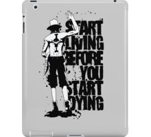 ONE PIECE - Ace Quotation iPad Case/Skin