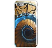 Spiraling out of sight iPhone Case/Skin