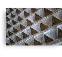 Pyramid Wall Canvas Print