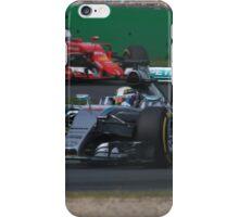 Lewis Hamilton & Sebatian Vettel iPhone Case/Skin
