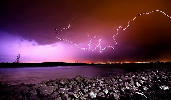 Lightning Strikes by Ben Goode
