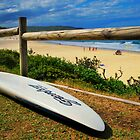 Surfing Catherine Hill Bay by StefanieT