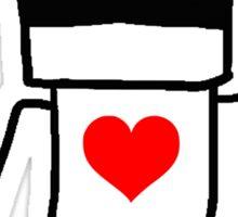Chappie Love Sticker
