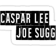 Joe Sugg, Caspar Lee / ThatcherJoe, Dicasp Sticker