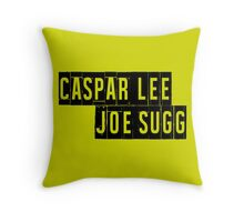 Joe Sugg, Caspar Lee / ThatcherJoe, Dicasp Throw Pillow