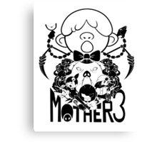 MOTHER 3 PORKY ARMY black ver. Canvas Print