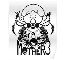 MOTHER 3 PORKY ARMY black ver. Poster