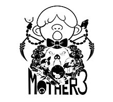 MOTHER 3 PORKY ARMY black ver. Photographic Print