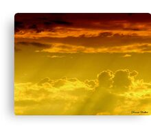 Love in the Sky Canvas Print