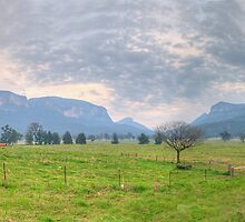 Awe (30 Exposure HDR) - Capertee Valley, Central NSW, Australia - The HDR Experience by Philip Johnson