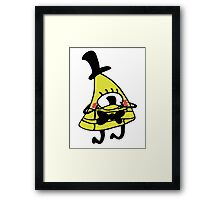 Adorable Blushing Bill Cipher Framed Print
