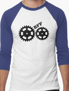 BFF Mechanism (black) Men's Baseball ¾ T-Shirt