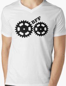 BFF Mechanism (black) Mens V-Neck T-Shirt