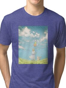 Millie's Journey : Boundless Sky Tri-blend T-Shirt