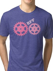 BFF Mechanism (pink) Tri-blend T-Shirt