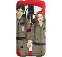 Ghostbusters Files - Mulder & Scully Samsung Galaxy Case/Skin