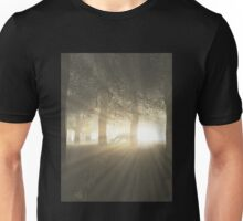 Dragon in a Misty Forest Unisex T-Shirt