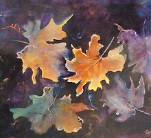Falling Leaves by Cathy Gilday