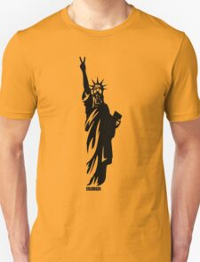 PEACE AND LIBERTY Unisex T-Shirt
