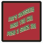 more awesomeness II - sticker by vampvamp
