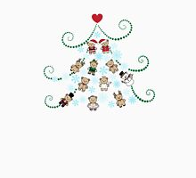 Christmas tree with bears Unisex T-Shirt