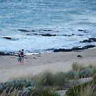 I like romantic walks on the beach by Lyn Fabian