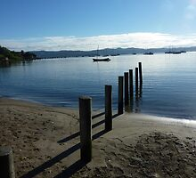 Silvery Morning - Sandy Bay, Tasmania by RainbowWomanTas