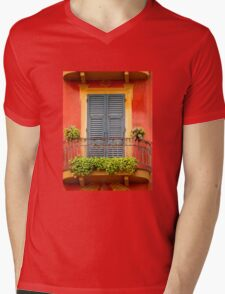 Balcony - Santa Margherita Mens V-Neck T-Shirt