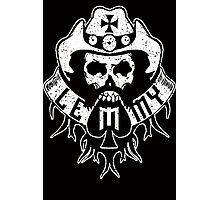 Lemmy Black Photographic Print