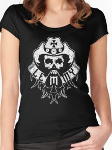 Lemmy Black Women's Fitted Scoop T-Shirt