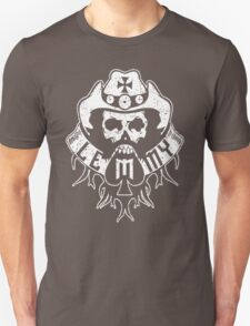 Lemmy Black Unisex T-Shirt