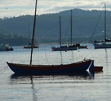 Smooth Sailing - Sandy Bay, Tasmania by RainbowWomanTas